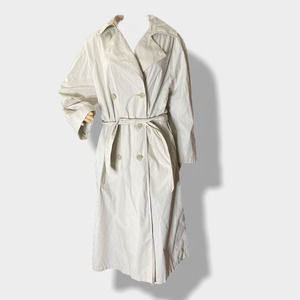 LONDON FOG Belted Double Breasted Trench Coat